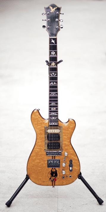 Garcia's Wolf Guitar