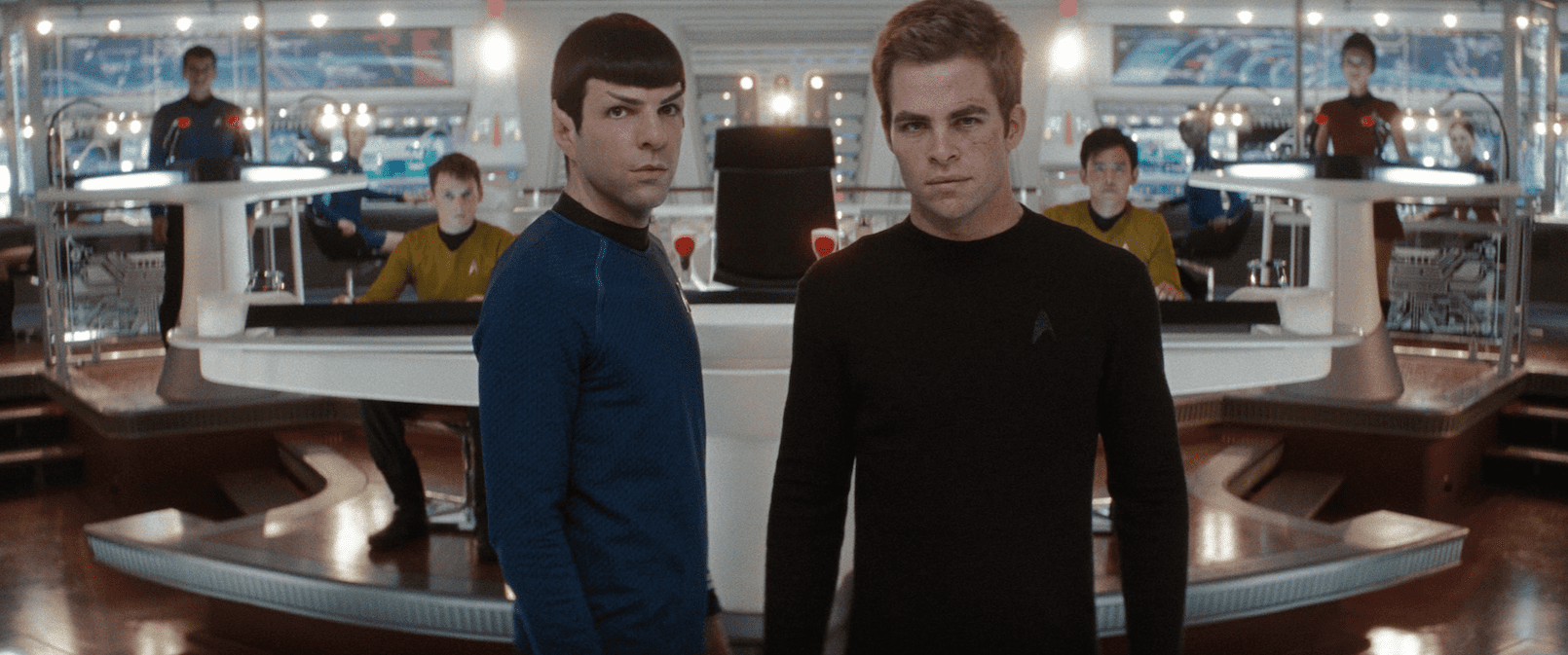 Chris Pine Zachary Quinto Star Trek